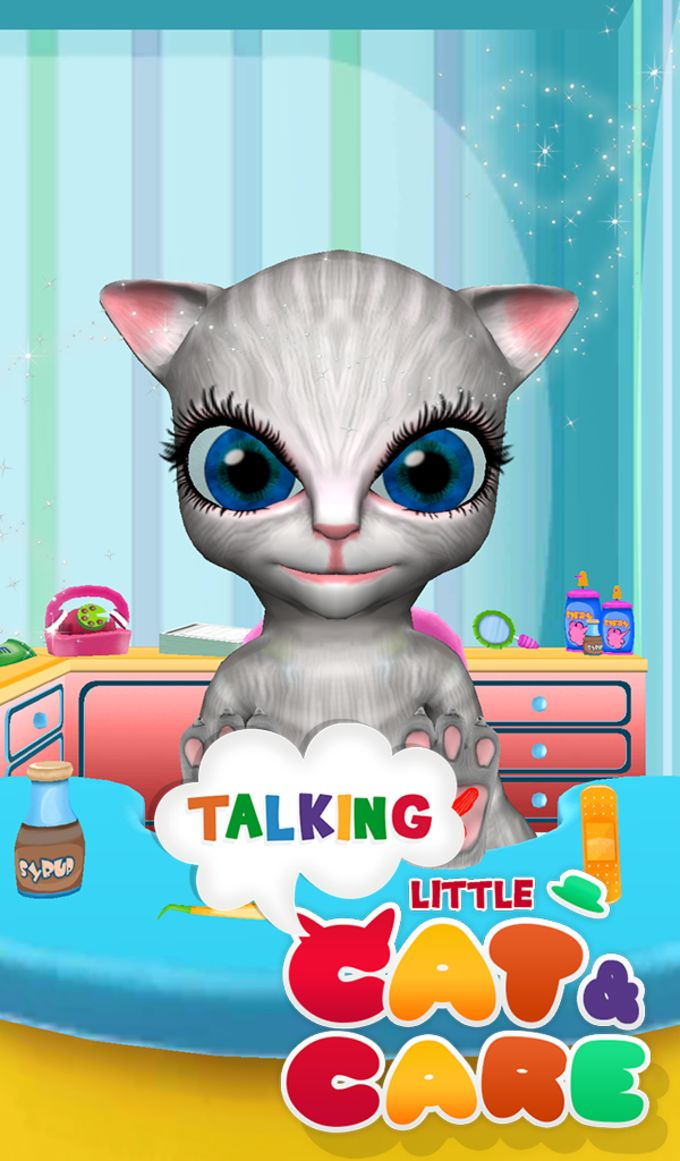 Talking Little Cat And Care