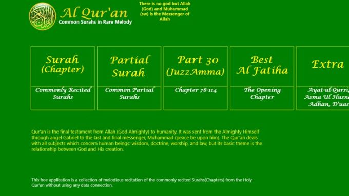 Al Quran for Windows 10