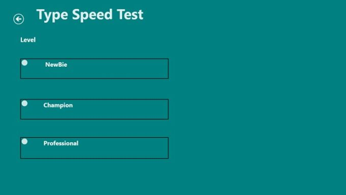 Type Speed Test for Windows 10