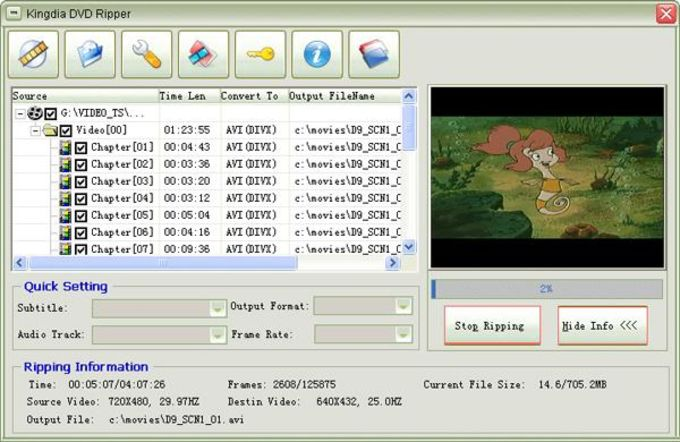 Kingdia DVD Ripper