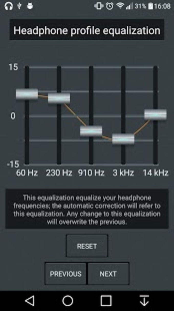Headphones Equalizer