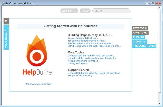 HelpBurner