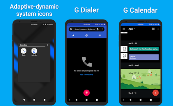 Alpha Substratum Theme For LG V30