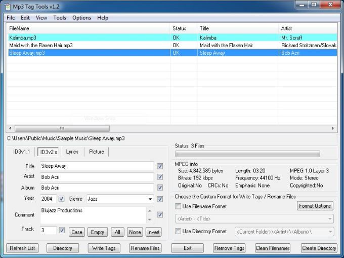 Mp3 Tag Tools