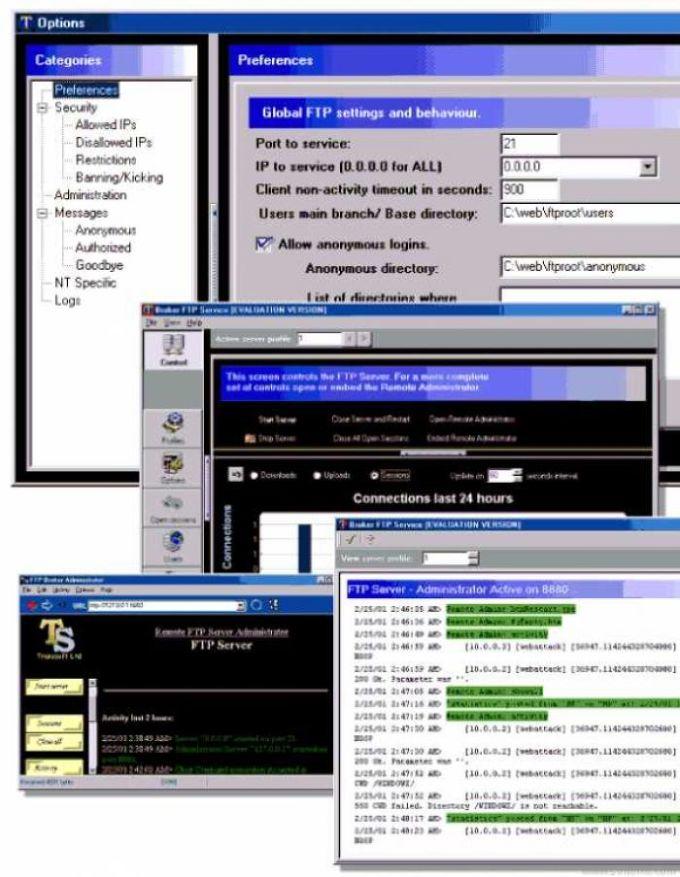 Broker FTP Server