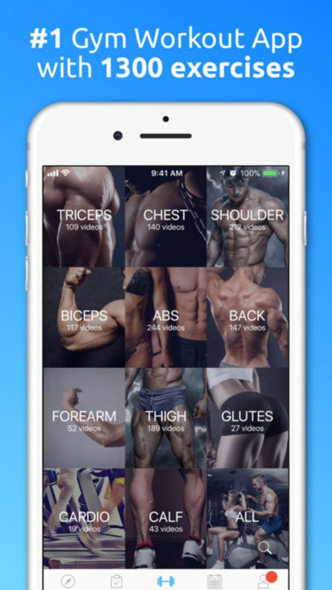 JEFIT Workout Planner Gym Log