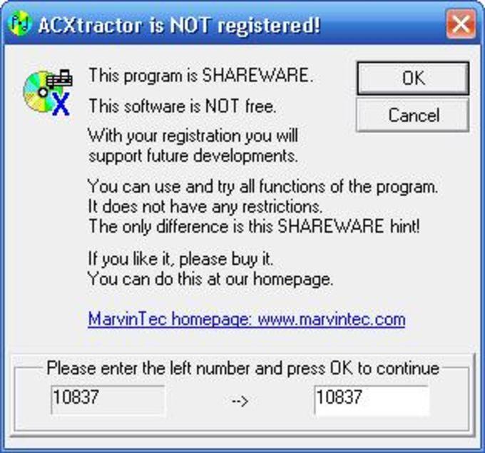 ACXtractor