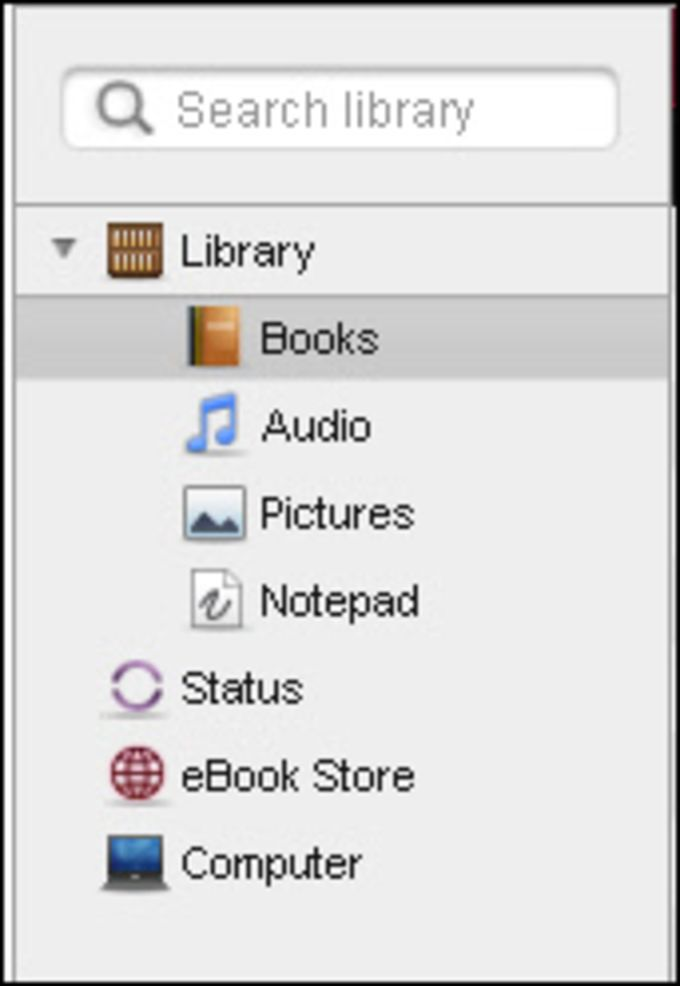 Sony eBook Library Software