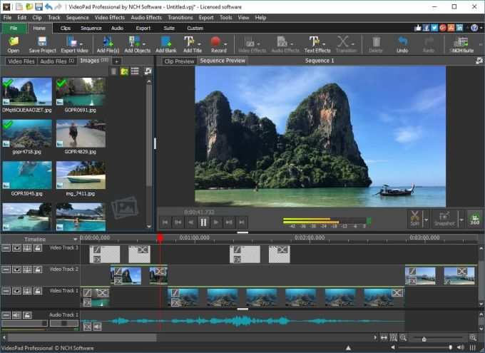 Download VideoPad Video Editor - free - latest version