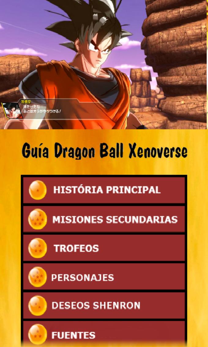 Guia DB Xenoverse