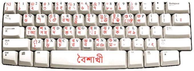 Baishakhi Keyboard