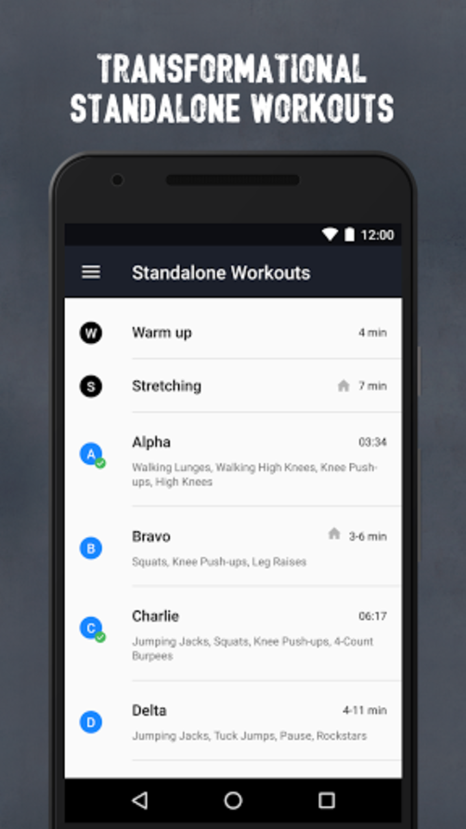 Runtastic Results Training App