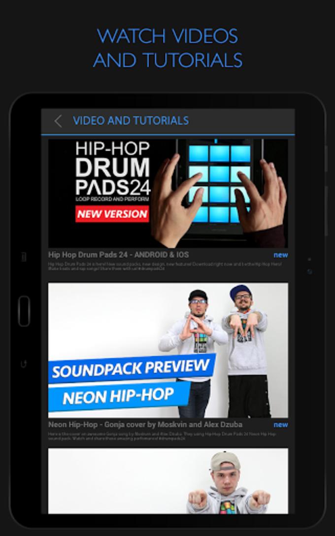 Hip Hop Drum Pads 24