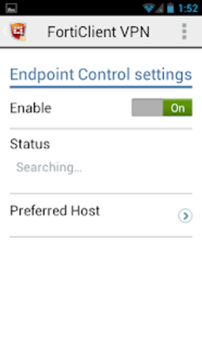 FortiClient VPN