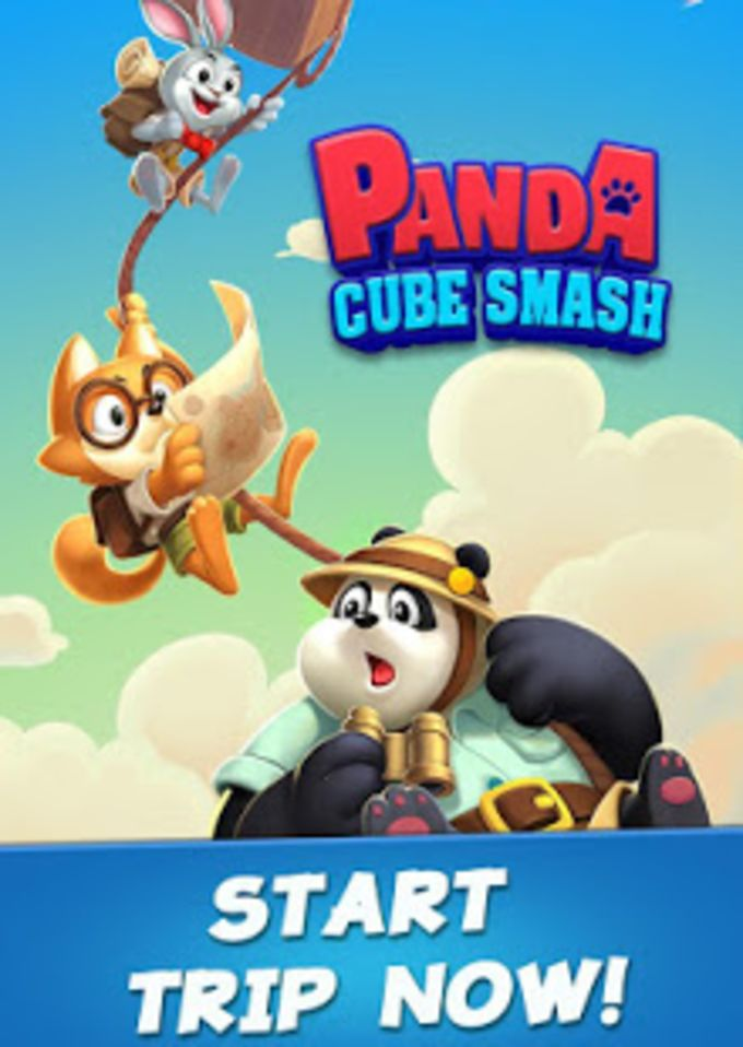 Panda Cube Smash - Big Win with Lucky Puzzle Games