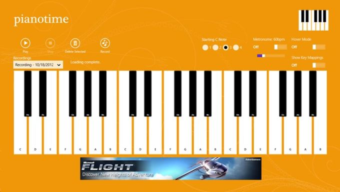 Piano Time for Windows 10