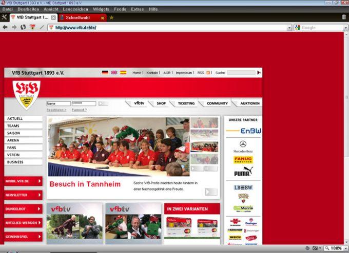 VfB Stuttgart Browser