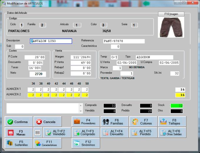 TPVGES Textil y Calzado