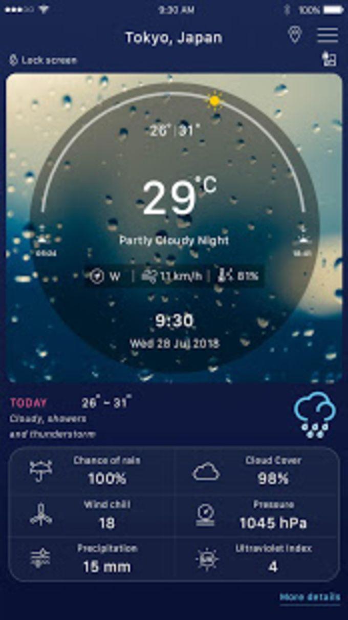 Weather forecast: weather channel  radar