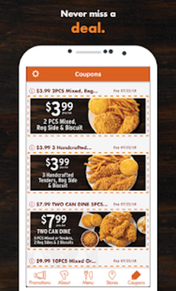 Popeyes App