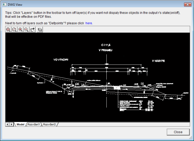 Auto DWG to PDF Converter