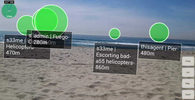WAR - Widespread Augmented Reality II