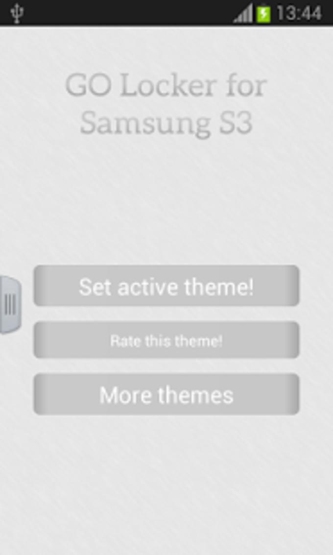 GO Locker para Samsung S3