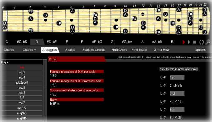 Chords & Scales