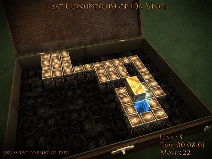 Last Conundrum of Da Vinci Deluxe