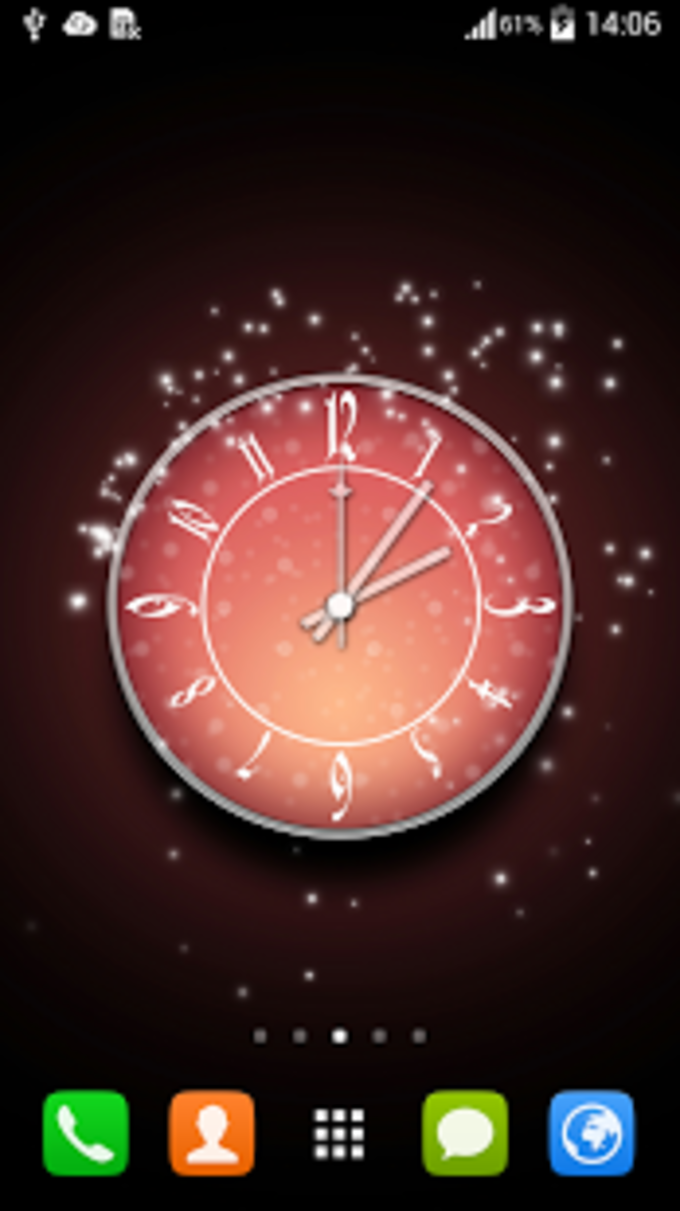 Gratis Wallpaper Clock