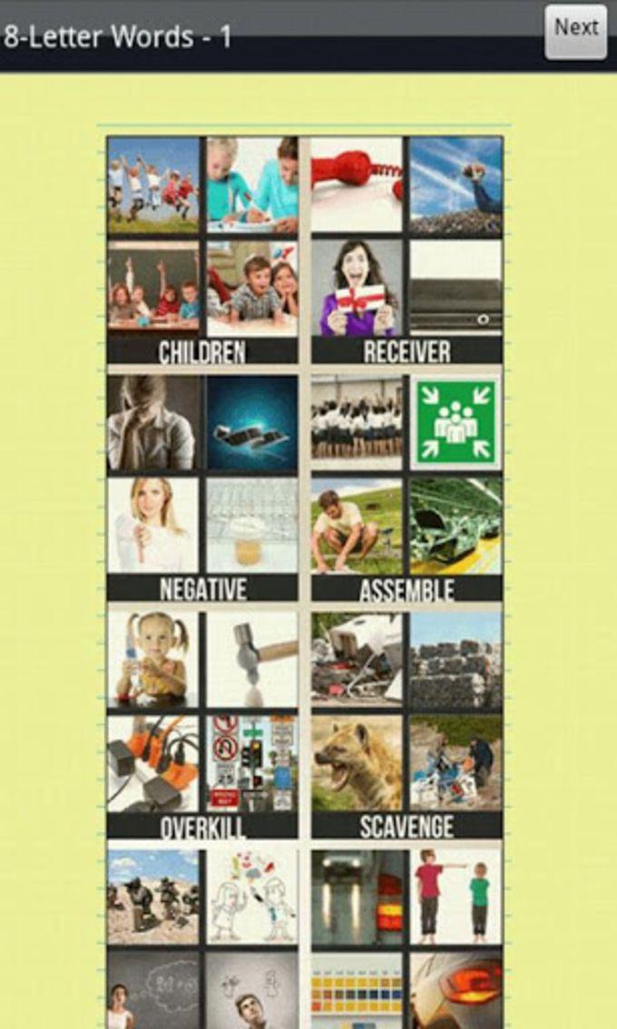 4 Pics 1 Word Cheats & Answers