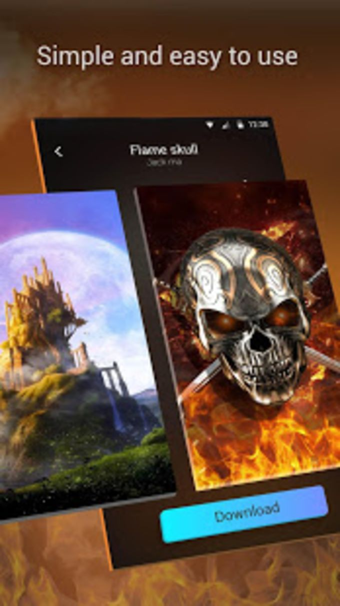 3D Parallax Live Wallpaper HD Animated Background APK for ...