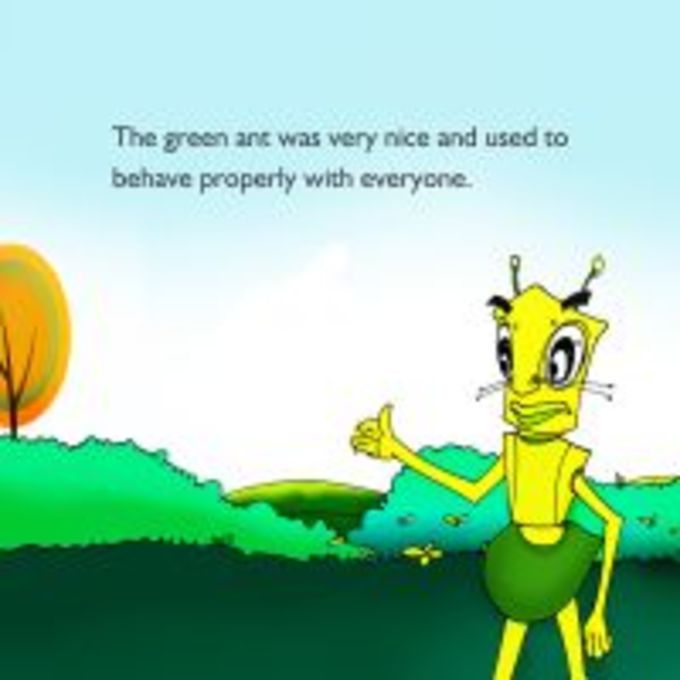 Moral Stories Two Ants - Kids