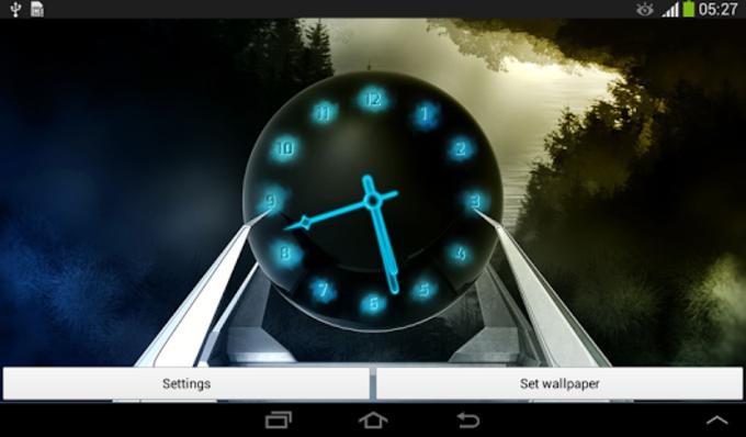 Reloj para Android