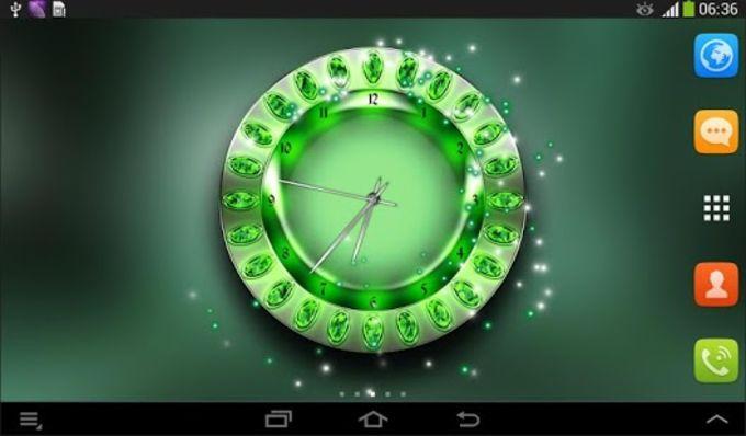 Royal Clock Live Wallpaper