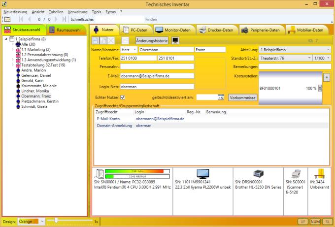 Technisches Inventar - Freeware