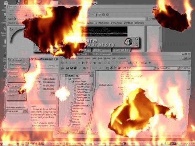 FireMagic! Screensaver