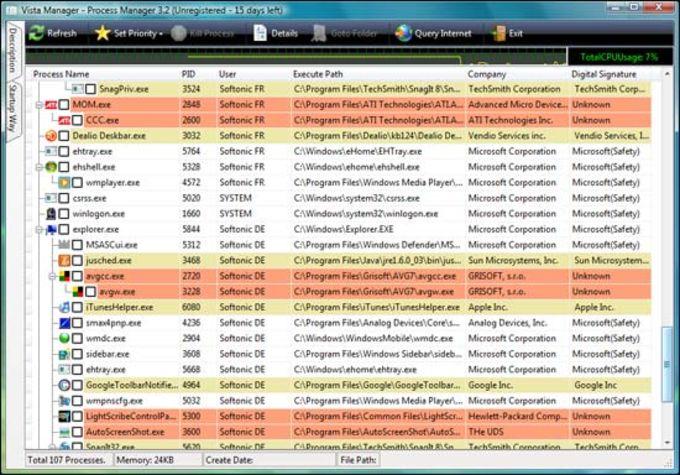 Vista Manager Download
