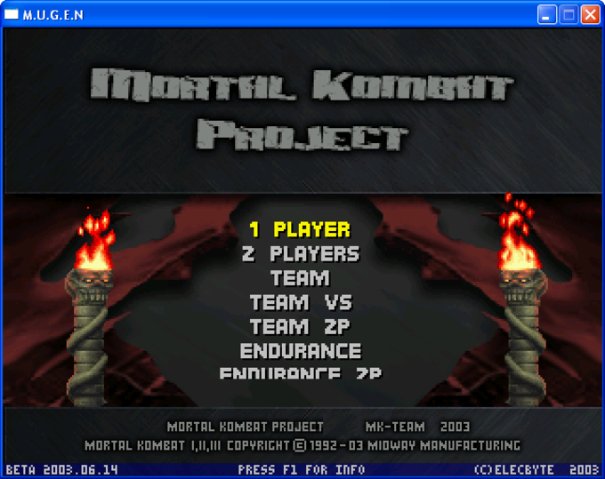Mortal Kombat Project