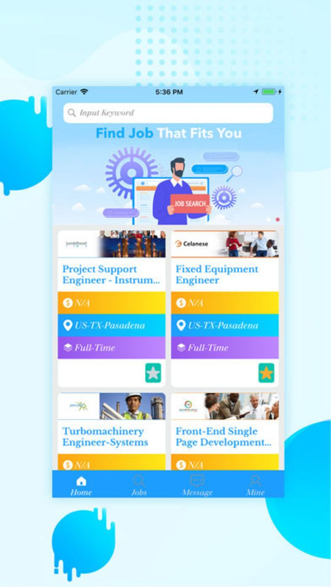 Discover new job opportunities