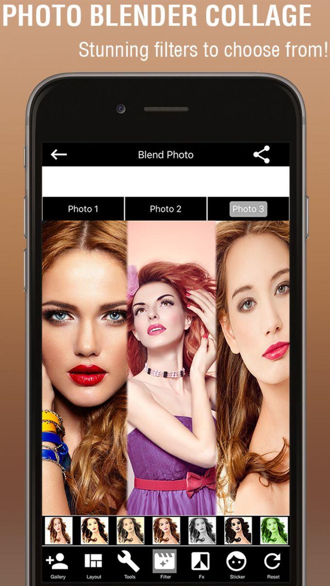 Blender Camera: Photo Blender Collage