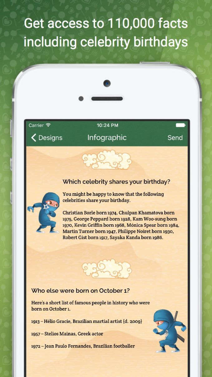 MyBirthday.Ninja - Send Happy Birthday Greeting Cards The Ninja Way