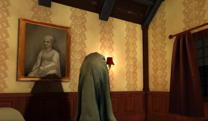 Sisters: A Virtual Reality Ghost Story