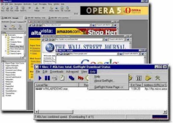 GetRight Browser Plugin