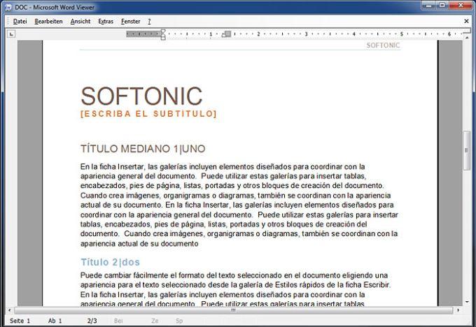 Microsoft Office Word Viewer