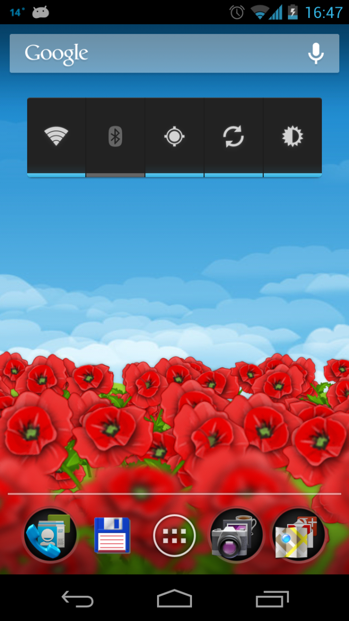 Red Poppies 3D Live Wallpaper