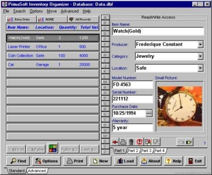 Software Organizer Deluxe