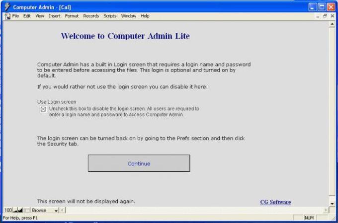 Computer Admin Lite