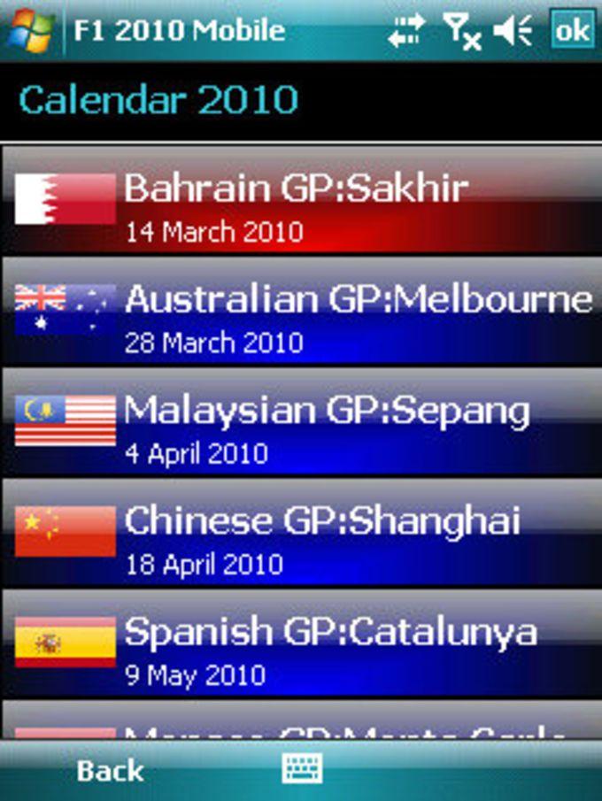 F1 Season 2010