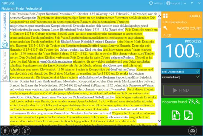 Plagiarism Finder Pro